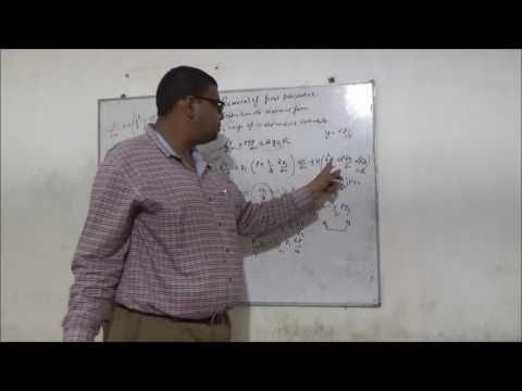 Helping Students in Maths and  Creating Better Tomorrow  : #LDE # SECOND ORDER # REMOVAL OF FIRST DERIVATIVE ...