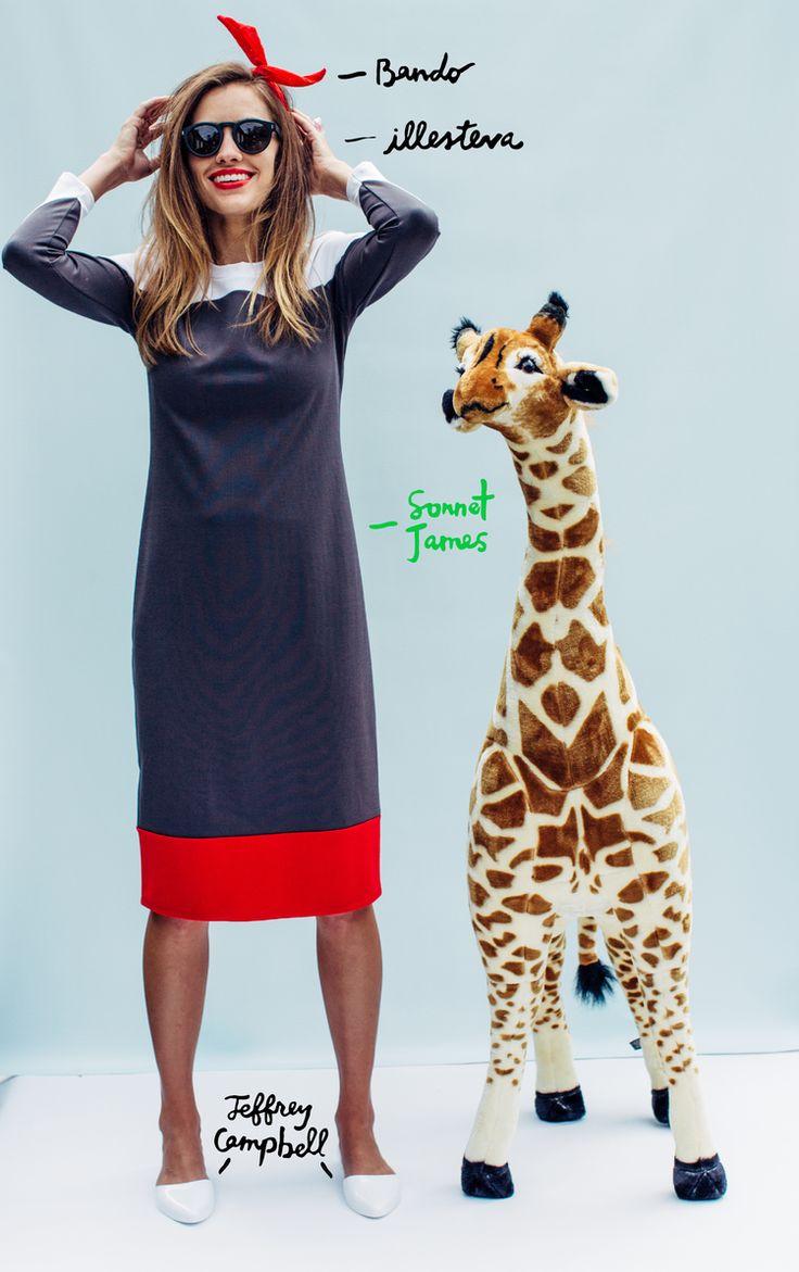 Statement Clutch - Giraffe by Traci K by VIDA VIDA m9Pc5x