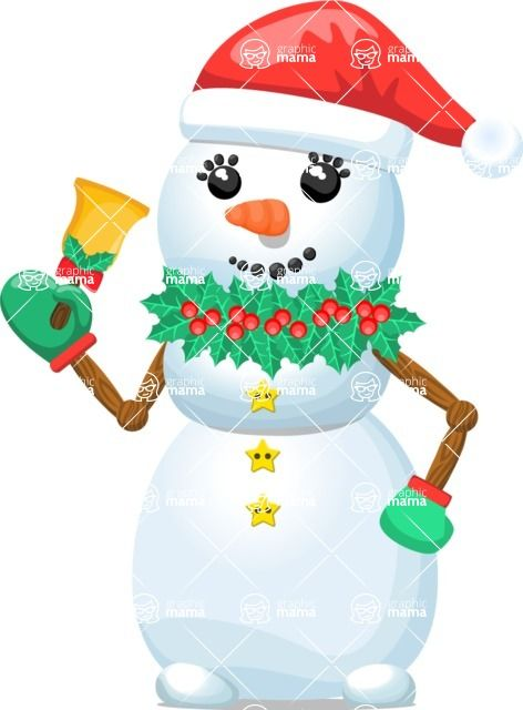 Build Your Jolly Snowman. You can create your own snowman designs by mixing and matching elements from the different #graphicmama characters.