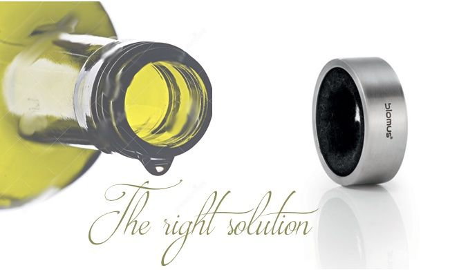 CINO drip catcher. Get it! http://bit.ly/1wZduQD #wine #taste #elegance #useful #design #drink