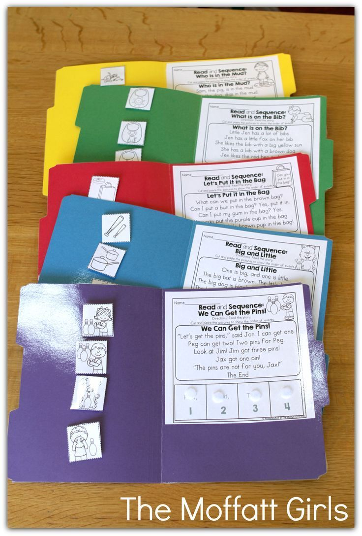 Turn Your Printables into File Folder Games! Just laminate