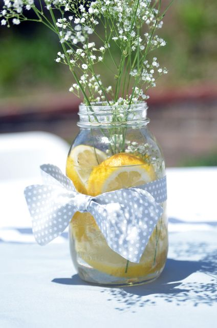grey and yellow Baby Shower Party Ideas | Photo 1 of 32 | Catch My Party