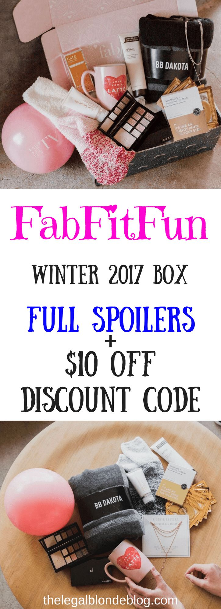 So obsessed with the FabFitFun Winter 2017 box! Check out all the spoilers!