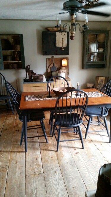 Primitive dining room