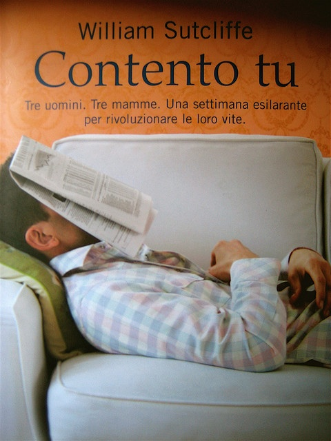 William Sutcliffe, Contento tu, Salani 2009, copertina