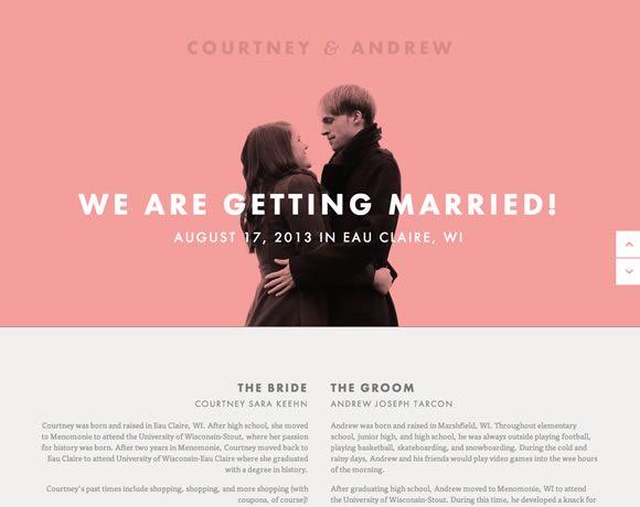24 best Wedding Websites images on Pinterest | Wedding sites ...