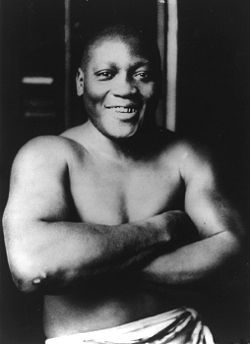 On June 10, 1946, boxing champion Jack Johnson died at the age of 68 in a car crash on U.S. Highway 1 near Franklinton, North Carolina, a small town near Raleigh, after racing angrily from a diner that refused to serve him. His last appearance in the ring had been the previous November in three one-minute exhibition rounds to raise money for US War Bonds. #TodayInBlackHistory