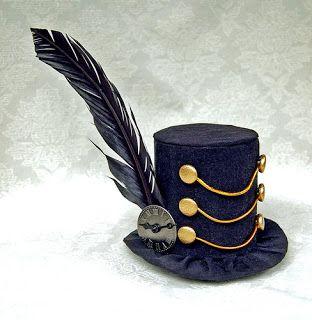 Dark March Mini Top Hat by Martianfiction