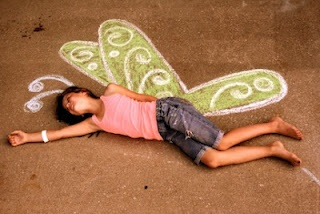 Show Me Cute: Sidewalk Chalk Photography