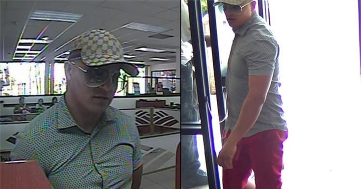 El FBI busca a ladrón de banco en Miami #Internacionales #FBI #ladróndebanco #miami