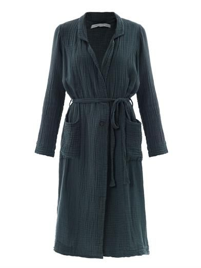 Cotton-gauze trench coat | Raquel Allegra | MATCHESFASHION.COM