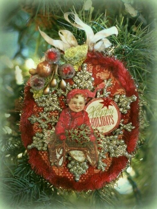 50 Best My Victorian Scrap Christmas Ornaments Images On