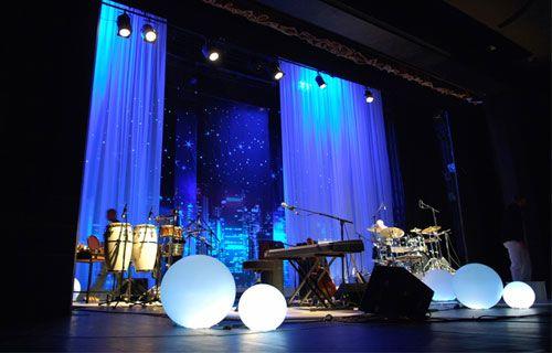 Resultado de imagem para decoracion escenarios musicales