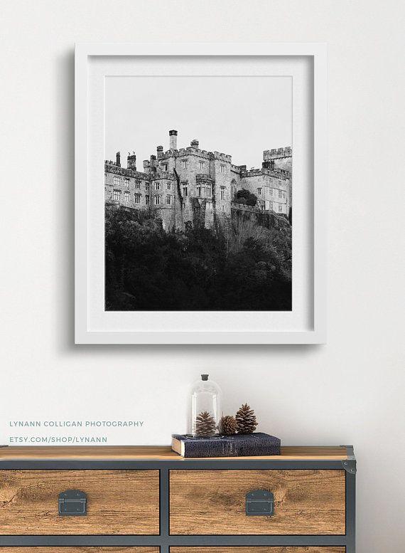 Photography Prints Ireland Irish Castle Home Decor Black And Etsy Black And White Wall Art Art Wall Art