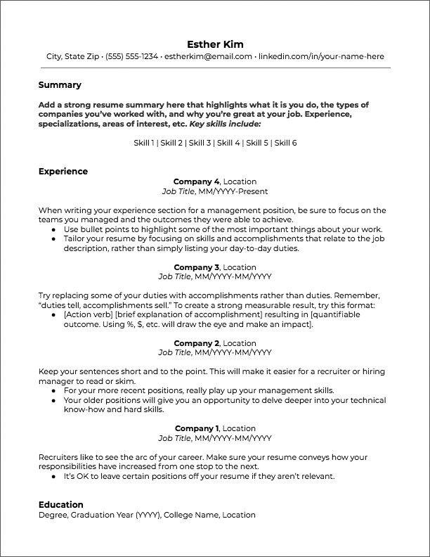 Cool Copy Cv Template Resume Templates Jobscan