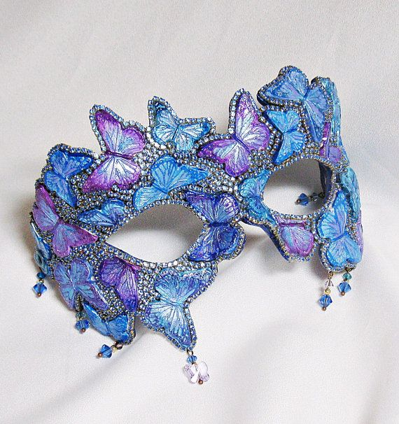Hey, I found this really awesome Etsy listing at https://www.etsy.com/au/listing/293164791/butterfly-masquerade-mask-blue-and