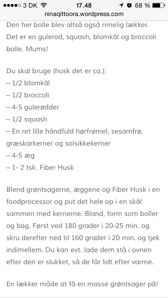 Gulerod/squash/blomkålsboller