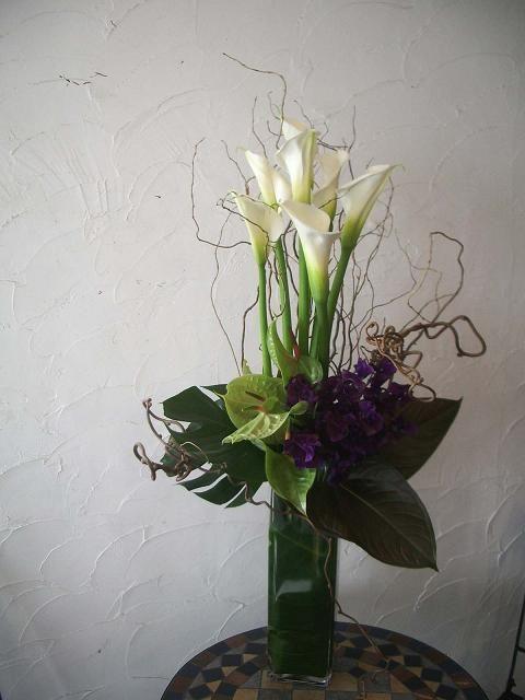 136 best green flowers and arrangements images on. Black Bedroom Furniture Sets. Home Design Ideas
