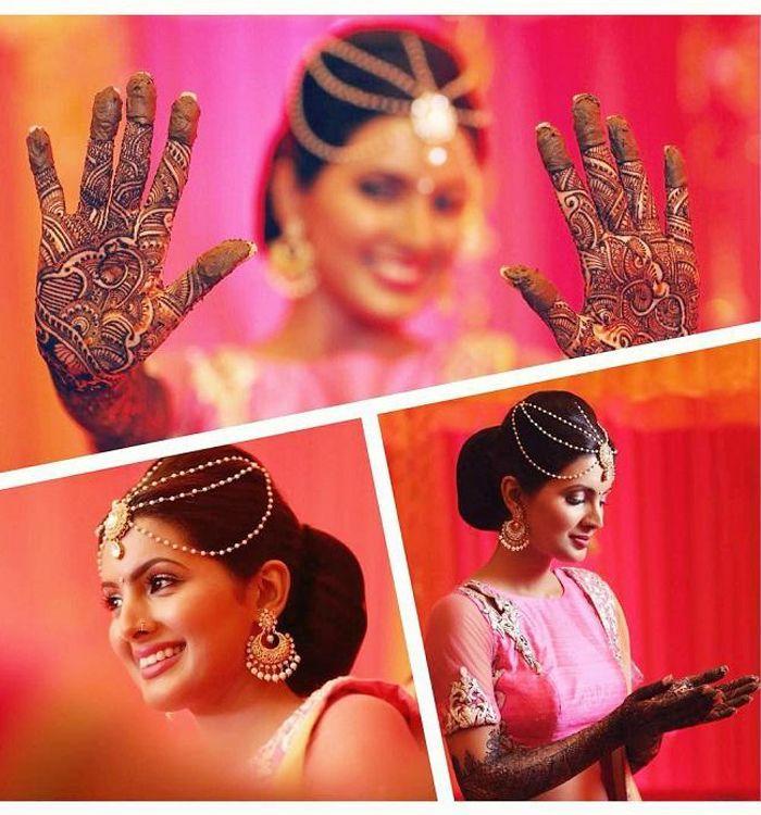 Bride And BridesmaidPosing At The Mehendi Ceremony! #wedding2015 #Weddingplz #Wedding #Bride #Groom #love #Fashion #IndianWedding #Beautiful #Style #Bollywood #Cricketer