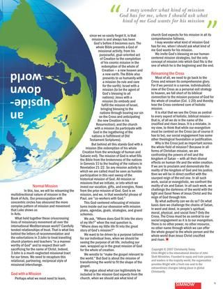"""Check out this interesting article, """"Where Do We Deploy?"""" by Chris Wright, found in this month's SIM NOW magazine. It speaks to the new era we find ourselves with regarding missions - Where are the missionaries? It's an upside down world."""