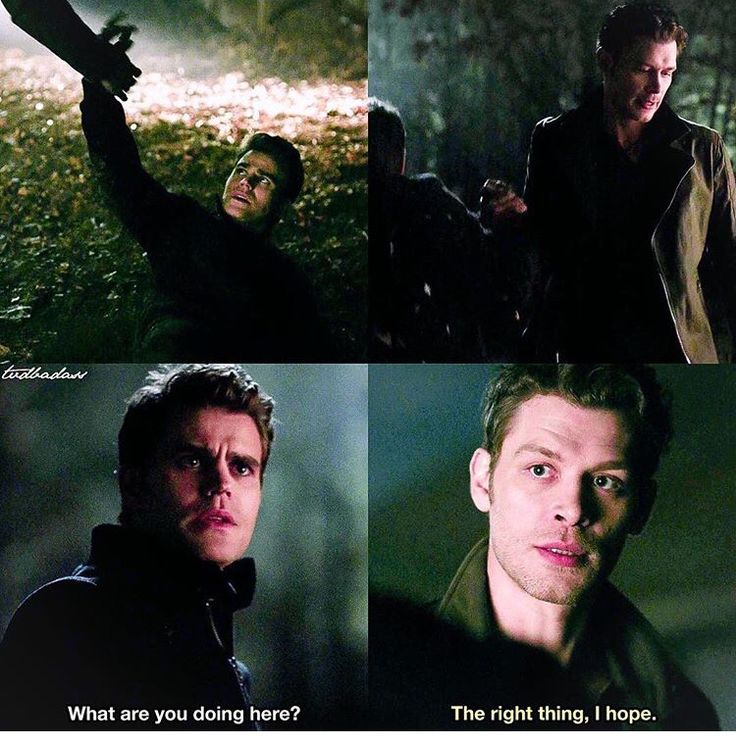 "#TVD 7x14 ""Moonlight on the Bayou"" - Stefan and Klaus"