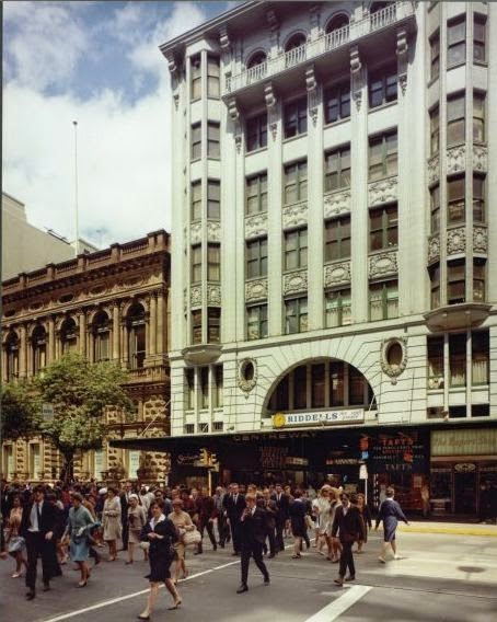 #Sixties | Centreway Arcade, Collins Street, Melbourne, Australia, 196; photo by Wolfgang Sievers.