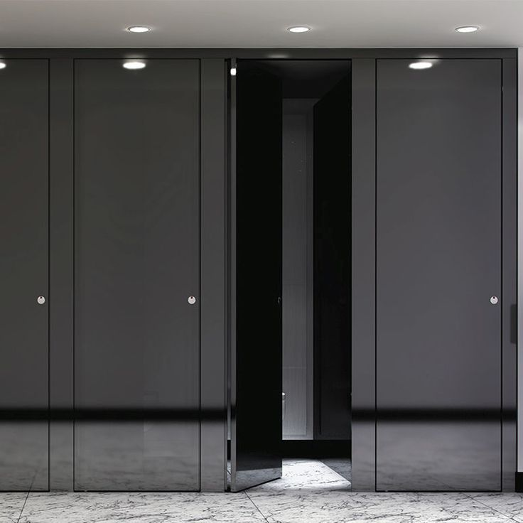 17 best images about toilet partitions on pinterest for Commercial bathroom partition doors