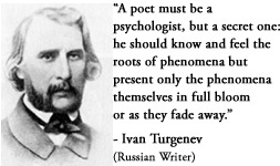 A brief history of ivan turgenev the russian novelist