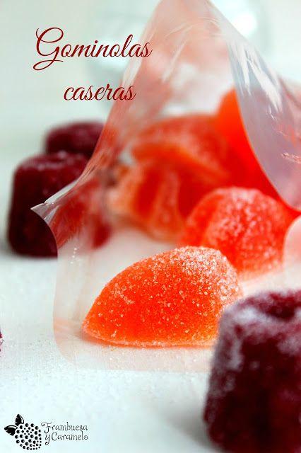 Frambuesa y Caramelo: Gominolas caseras (dos formas de prepararlas)