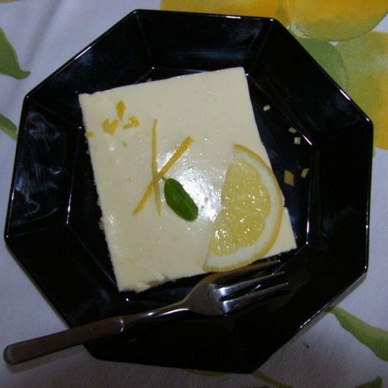 Zitronen-Schmandkuchen vom Blech