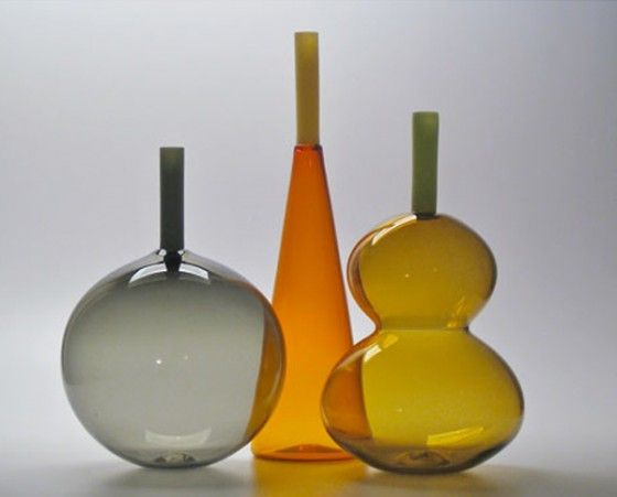 more wonderful glass from Portland glass artist Lynn Everett Read of Vitreluxe! via Tilde