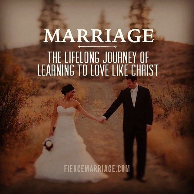 I love this point if view on marriage. It's not about us, it's about Him.