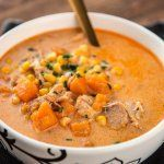 Slow Cooker Chicken and Sweet Potato Chowder | Slow Cooker Gourmet | Bloglovin'
