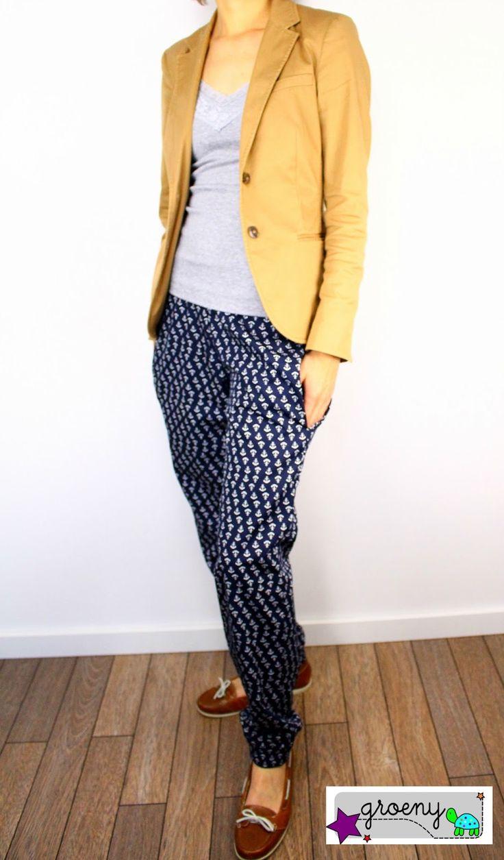 lillesol & pelle Schnittmuster / pattern: Sommerhose / pants