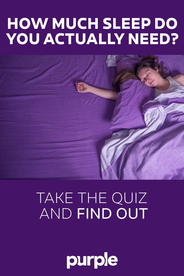 Wonder if you're getting enough sleep? Or if your child is getting enough sleep? Take this quiz to find out. Just five easy questions can give you a range of ideal shut-eye, and it might be more or less than you think!