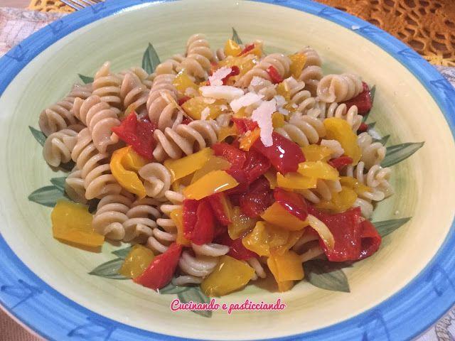 Cucinando e Pasticciando: Fusilli integrali con Peperoni