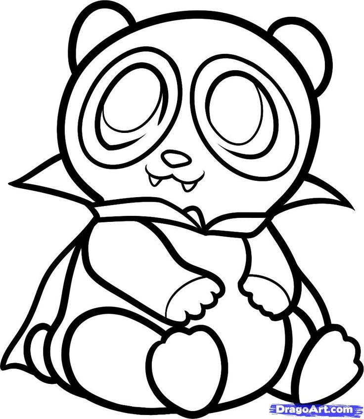 25 Panda coloring pages Pinterest