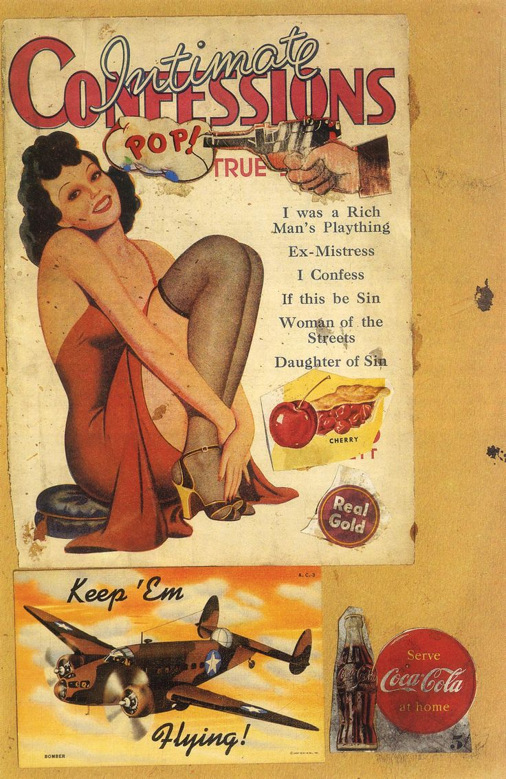 Eduardo Paolozzi - I was a Rich Man's Plaything (1947)