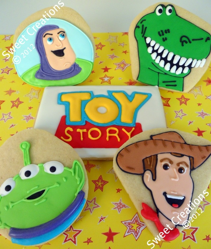 Sweet Creations Cookies: Toy Story