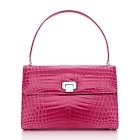 Tiffany & Co. | Item | Maddie lunch box in sea rose crocodile. More colors available. | United States $8,500.00: Lunch Boxes, Bags A Rama, Pink Tiffany S, Style, Tiffany Maddie, Shoes Bags Accessories, Maddie Lunchbox