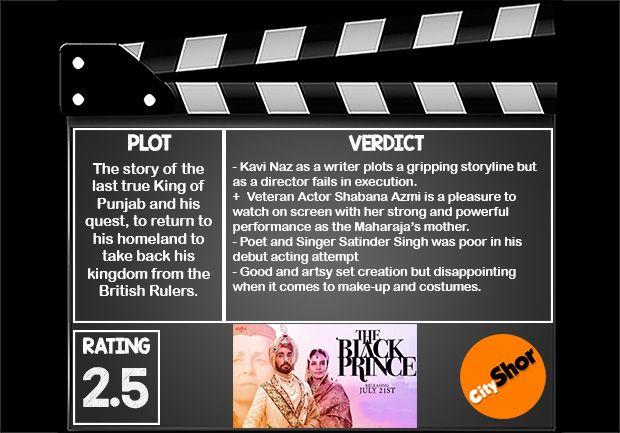 Movie Review - The Black Prince #MovieReview #Bollywood #Entertainment #TheBlackPrince #CityShorBengaluru