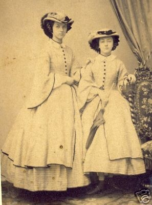 Historical Timekeepers - 1860's Fashion Hats & Bonnets