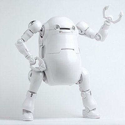 Mechatro 12 WeGo DIY White 22cm Robot Action Figure