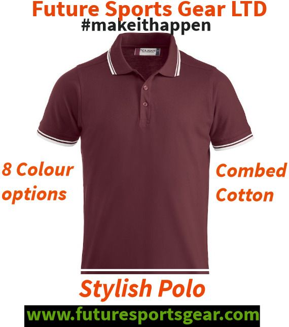 Style Polo in combed cotton-multi colour options enabling organisation identity #logo Only £19.00! #makeithappen