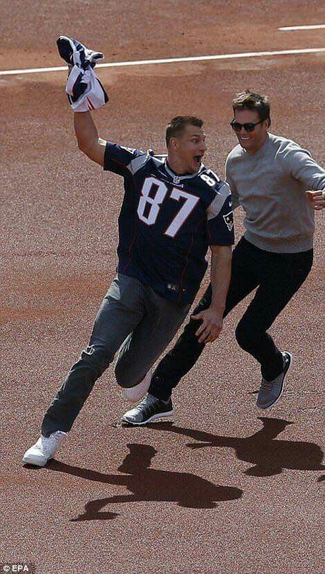 Gronk & Tom love this