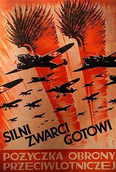 World War II. Propaganda Poster of the Polish Air Force, 1939. Oskar Schlinder Museum, Krakow, Poland. Pin by Paolo Marzioli