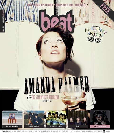 """Beat Magazine is """"Everything Melbourne"""" - music, arts, clubs and culture."""