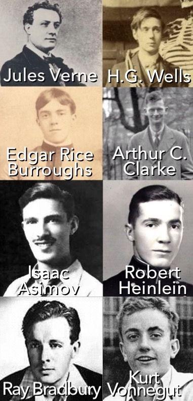 greatest sci-fi writers