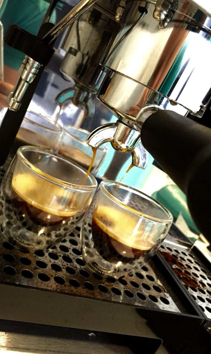 #lelit coffe machine #bodum pavina glasses