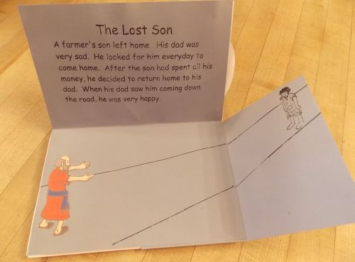 Parables of Jesus Pop Up Book - Lost Son